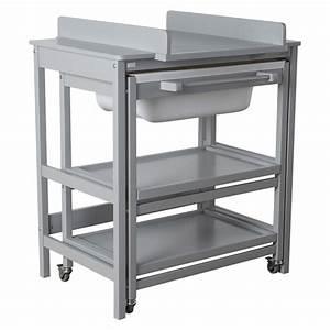 Meuble A Langer : meuble langer smart comfort griffin grey de quax meuble langer aubert ~ Teatrodelosmanantiales.com Idées de Décoration