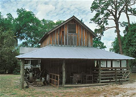 Barn In Bradenton by Pottery Barn In Manatee Historic Park In Bradenton