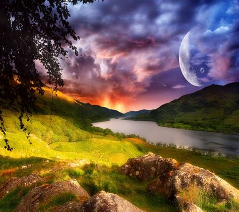 beautiful alien landscape alien landscapes