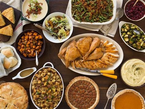 food on thanksgiving a classic thanksgiving menu to feed a crowd serious eats