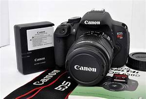 Canon 650 D : canon eos digital rebel t4i 650d 18 0 mp dslr camera kit ef s 18 55mm is ii lens ebay ~ Buech-reservation.com Haus und Dekorationen