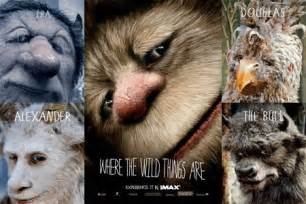 Movie Where the Wild Things Are Characters