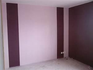 Peinture Mur Chambre : peinture violet chambre unique photos couleur dans une ~ Voncanada.com Idées de Décoration