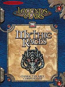 250486762 Dungeons Dragons 3 5 Legends Lairs Mythic Races