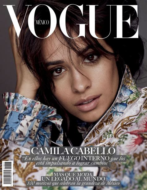 Camila Cabello Vogue Magazine Mexico March Issue