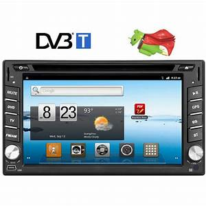 6 2 In Dash 2 Din Android 4 0 Car Cd Dvd Player Stereo Gps