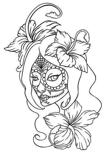 Tattoo Girl Drawing at GetDrawings.com | Free for personal use Tattoo Girl Drawing of your choice
