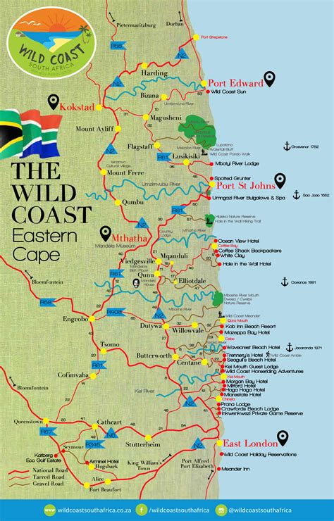 photo gallery wall coast map coast south africa