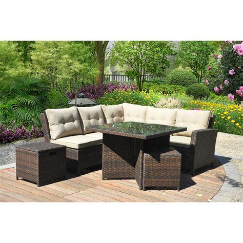 mainstays ragan meadow ii 7 piece outdoor sectional sofa patio sectional furniture new mainstays ragan meadow ii 7