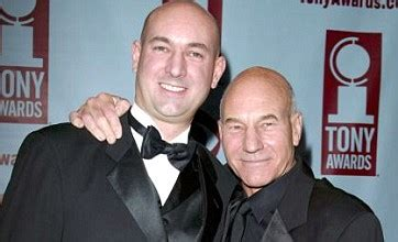 patrick stewart son daniel stewart i don t want to get by on being patrick
