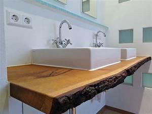 Waschtische Holz Mit Aufsatzwaschbecken : waschtisch aus holz waschtisch aus holz chapo ihr ~ Lizthompson.info Haus und Dekorationen