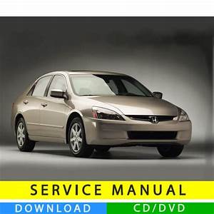 Honda Accord Service Manual  2003