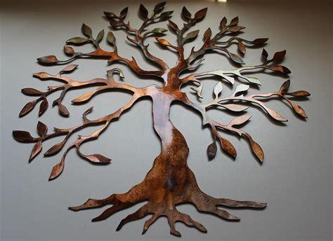 tree wall sculpture 20 top oak tree large metal wall wall ideas 2929