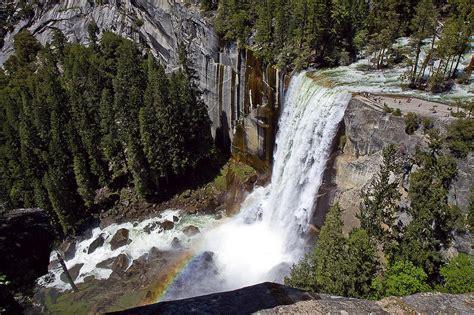 Yosemite Vernal Falls Photograph Eric Moss