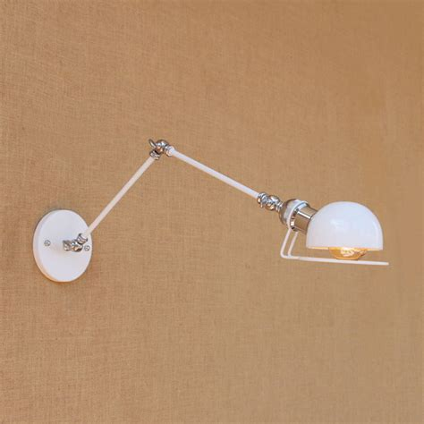 sconce swing arm wall l with reading light swing arm