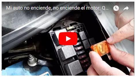 motor chevrolet spark y daewoo matiz no enciende