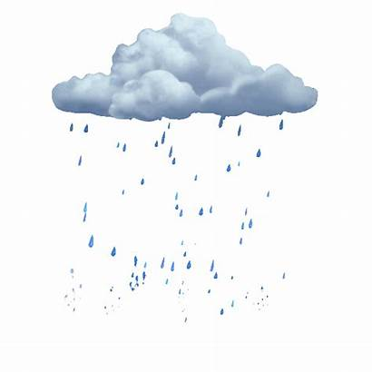 Rain Clipart Effects Giphy Gifs Lluvia Sticker