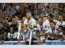 Champions League 201718 Who has qualified? Daily Mail
