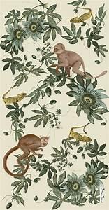 Ausgefallene Tapeten Wohnzimmer : jungle ape textiledesign hamburg dschungel ~ A.2002-acura-tl-radio.info Haus und Dekorationen