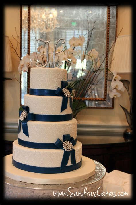and wedding cake