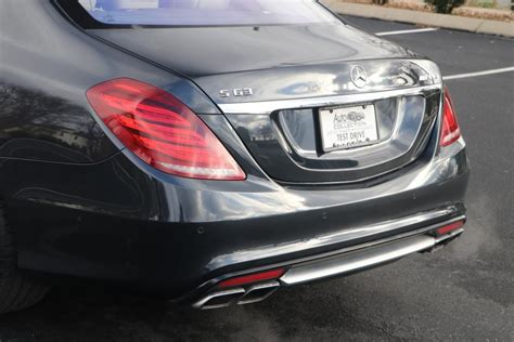 The motor's output has been bumped up a bit since the cl days, and is now putting out 577 horsepower and 664. Used 2015 Mercedes-Benz S63 AMG 4MATIC AWD W/NAV S63 AMG 4MATIC For Sale ($69,950)   Auto ...