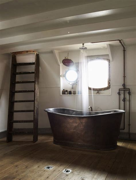 small lighthouse bathroom decor 5 of the best industrial style bathrooms my warehouse home