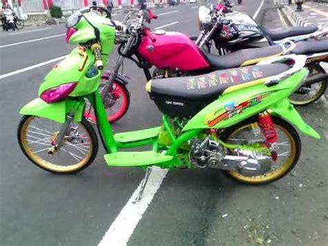 Mio J Modifikasi Racing by Modifikasi Mio J Terkeren Modif Variasi Velg