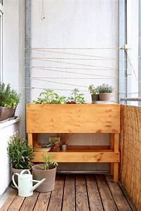 Balkon Ideen Pflanzen : die besten 25 hochbeet balkon ideen auf pinterest ~ Lizthompson.info Haus und Dekorationen