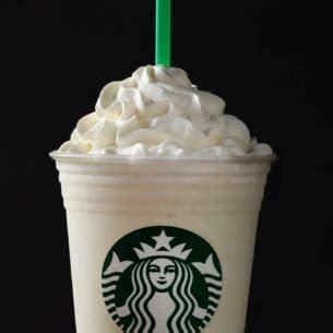 White Chocolate Crème Frappuccino® Blended Crème