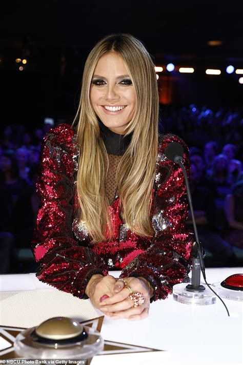 Heidi Klum Will Replaced America Got Talent