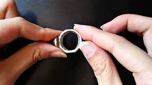 an effective and easy way to resize rings youtube With how to make a wedding ring