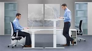 Steh Sitz Tisch : sitz steh schreibtisch steharbeitsplatz varidesk pro plus 36 f r ein bis zwei monitore ~ Eleganceandgraceweddings.com Haus und Dekorationen