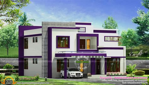 contemporary one house plans contemporary home design by nobexe interiors kerala home