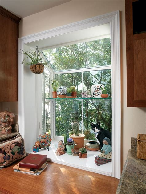 House Plants For Kitchen Window by Garden Window Decorating Ideas To Brighten Up Your Home