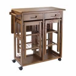 Portable Kitchen Island With Bar Stools 3 Small Table Set Stools Compact Island Portable Bar Kitchen Furniture Rv Ebay