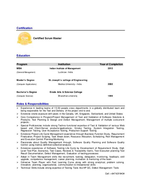testing resume for 3 years in experience 100 resume