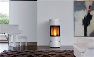 Poele A Granules Design Contemporain : po le granul s solution design gain de place seguin ~ Premium-room.com Idées de Décoration
