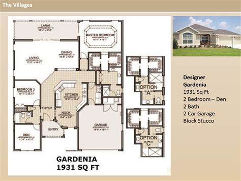 floor plans the villages fl the villages homes designer homes gardenia model