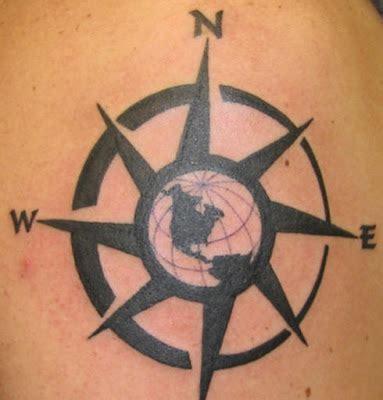 Nautical compass tattoos for men. Compass Tattoo Design for Mens | CoolMensTattoo.com