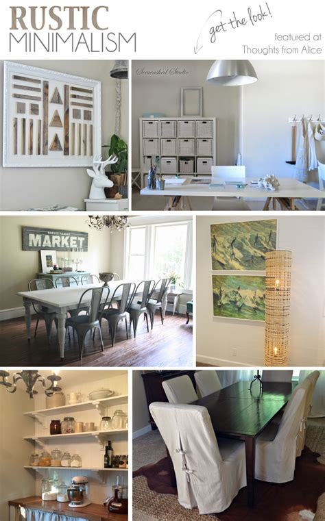 minimalism decor rustic minimalism get the look sundays at home no 22