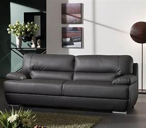 canap fixe 3 places en pu juliano trois couleurs au choix With tapis shaggy avec canapé 2 3 places noir