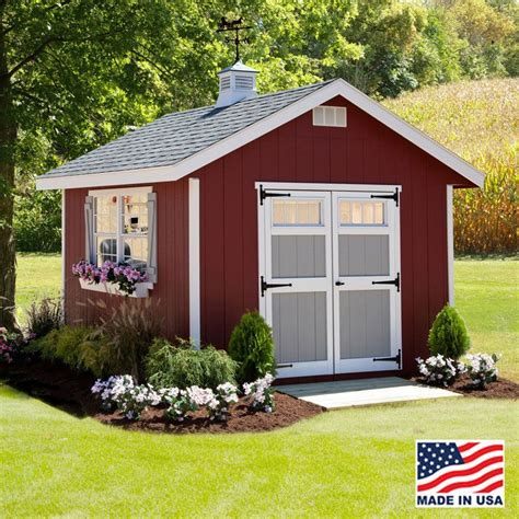 quality amish    homestead storage shed kits  easy