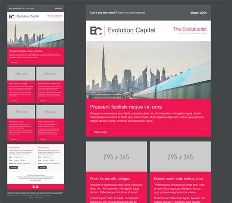 Newsletter Design For Rachel Soothill By Vengus Design