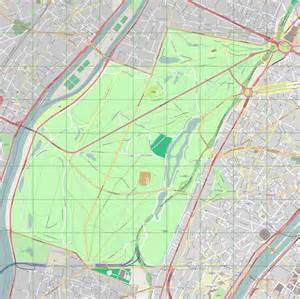 map of file map of bois de boulogne png