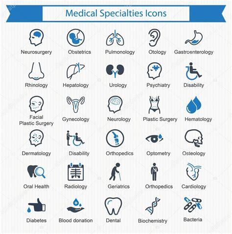 foto de Fotos: especialidades medicas iconos español iconos de