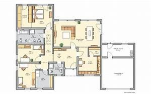 Grundrisse Bungalow Grundriss Winkelbungalow 5 Zimmer