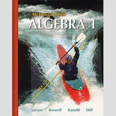 Algebra 1 Textbook Amazoncom