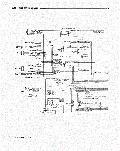 daves place  dodge class  chassis wiring diagram