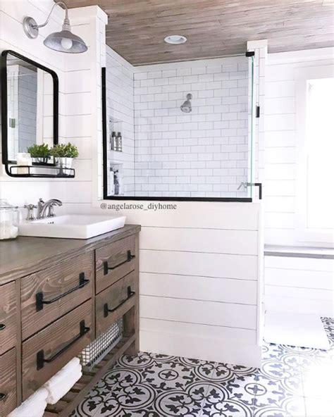 Modern Farmhouse Bathroom Vanity Lighting by Rustic Modern Farmhouse Vanity Farmhouse Bathroom Cement