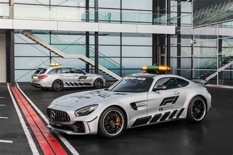 Mercedes C Class Estate 4k Wallpapers by Mercedes Amg Gt R And C Klasse Estate F1 Safety Car 2018